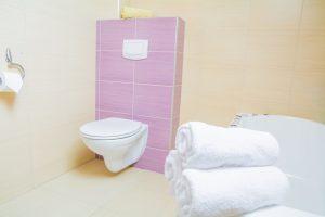 Villa Amber Gaski pokoj trzyosobowy Toaleta 2