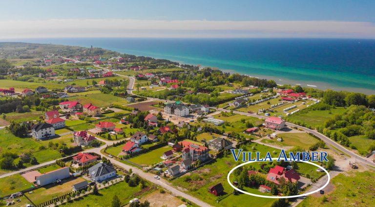 Villa Amber Morze Domki Dron foto