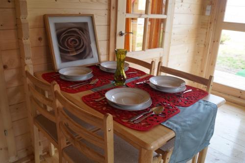 Domek parterowy rodzinny villa Amber sniadania