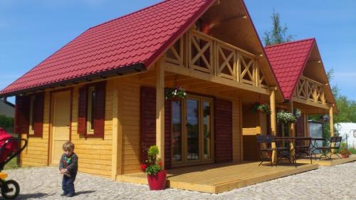 Domek piętrowy Villa Amber 1 wejszcie