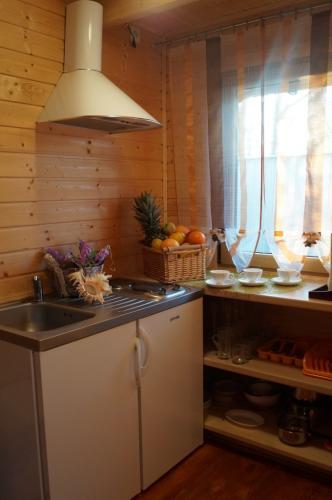 Domek piętrowy Villa Amber aneks kuchenny